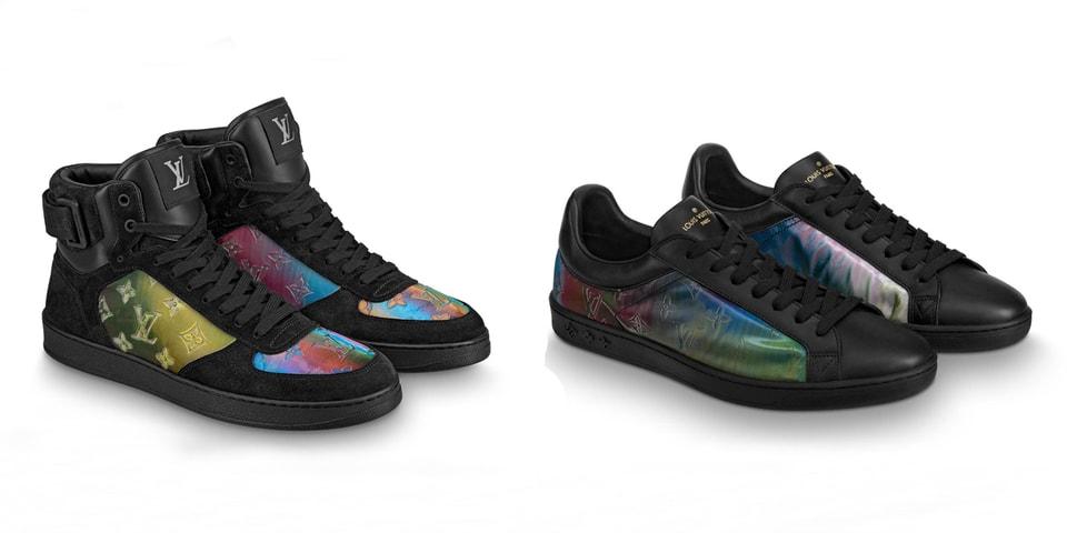 26aabe02953 Louis Vuitton Iridescent Luxembourg Rivoli Sneaker Release | HYPEBEAST