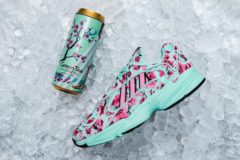 adidas x Arizona Ice Tea Sneaker Pack Closer Look collection capsule shoes Originals Continental 80 yung 1 release information pop up shop store new york city nyc