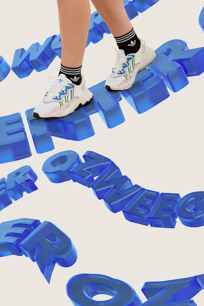 adidas Originals and ASOS Present Ozweego World sneaker Web