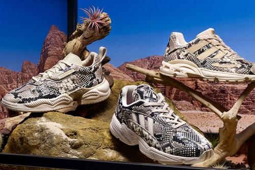 adidas Originals Drops Snakeskin-Covered LXCON 94 & Supercourt