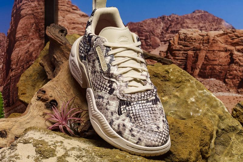 adidas originals Snakeskin Pack Sneakers Yung-1 Supercourt LXCON 94 Core Black Linen Pale Nude Fall Winter 2019 Footwear Drop First Look