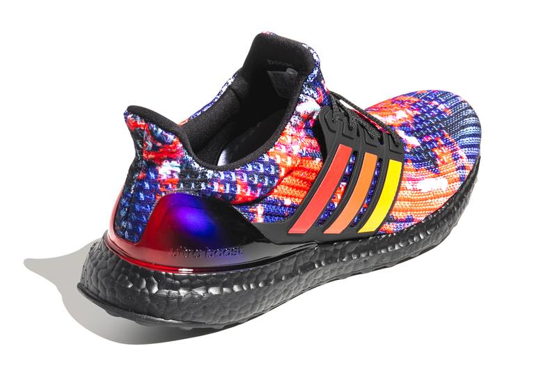 adidas Originals UltraBOOST Scarlet Active Orange Core Black Torsion stabilizing flexible outsole gradients three stripes heel arched primeknit upper FV7279 rainy season rain china chinese exclusve