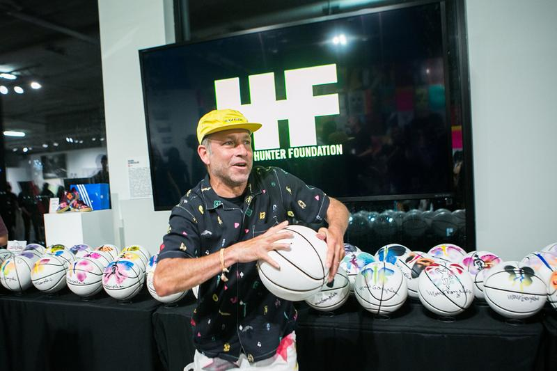 adidas Skateboarding Mark Gonzales Harold Hunter Foundation Art Benefit Cam'ron DJ Stretch Armstrong Basketballs Beyond the Streets