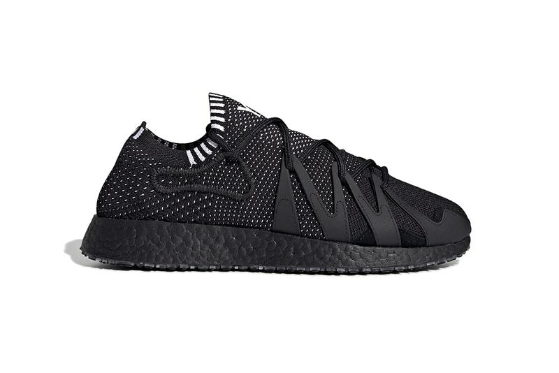 adidas Y-3 Raito Racer Triple Black White Detailing BOOST Sole Unit Quickstrike Outsole TPU Primeknit Upper Yohji Yamamoto Sneaker Release Information Cop Online Brand With The Three Stripes