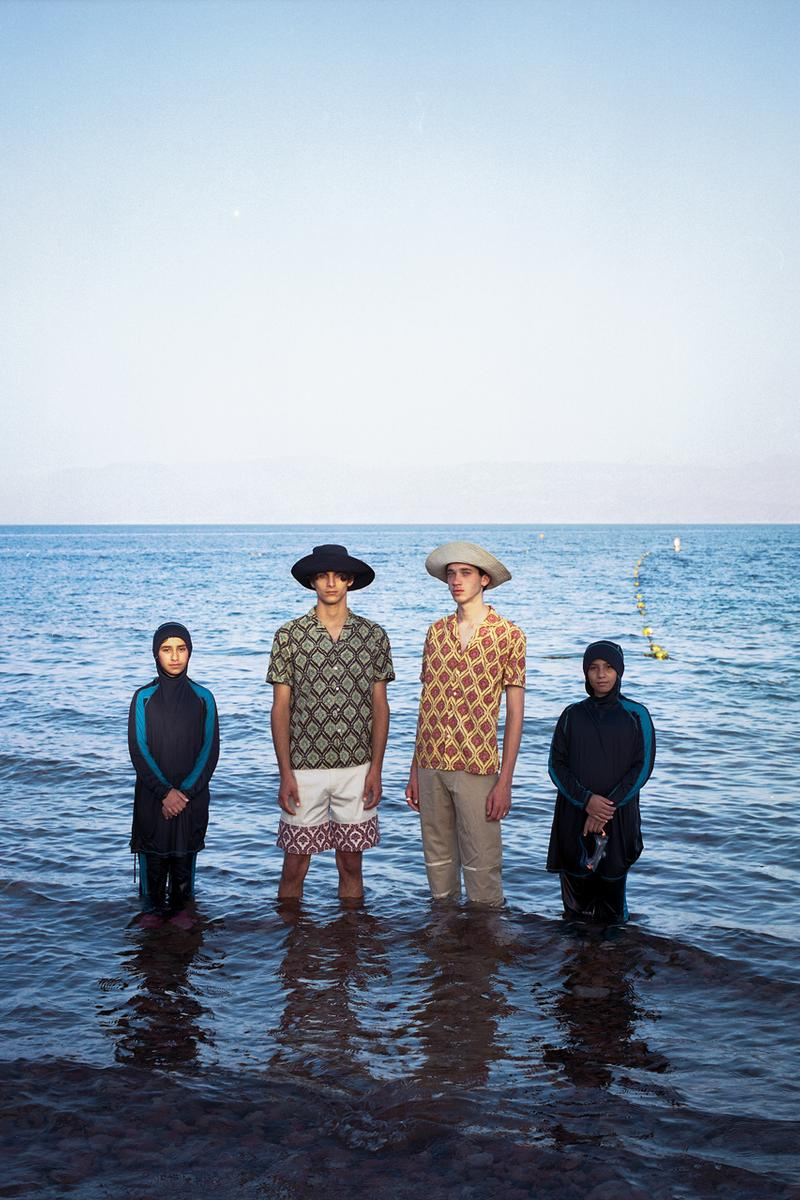 ADISH Spring/Summer 2020 Collection Nuweiba Music Festival Sinai Shirts Pants Shorts Hoodies Long Sleeves Jackets Bedouins Red Moon Above Nuweiba White Blue Black Red Green