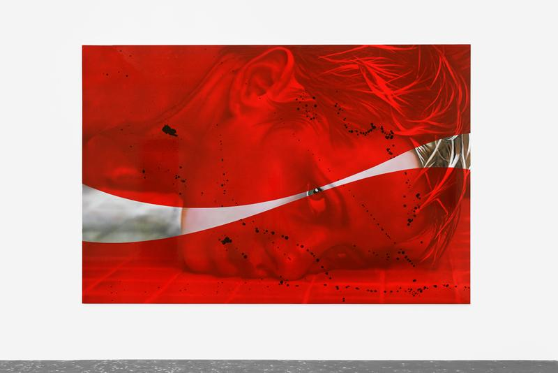 aguirre shwarz zevs savoure le rouge new galerie exhibition artworks paintings
