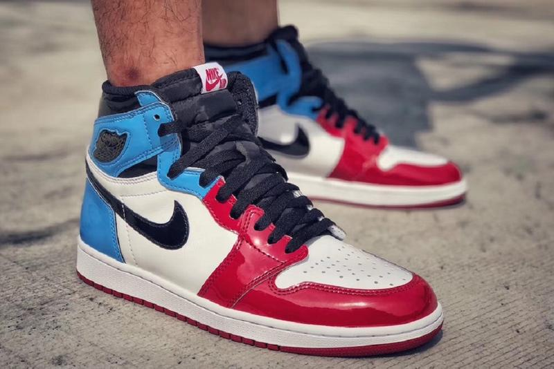 Air Jordan 1 High OG Fearless release date info price shoes sneakers 2019 spring summer july price cost pricing pics pictures picture images image pic one nike blue black white red