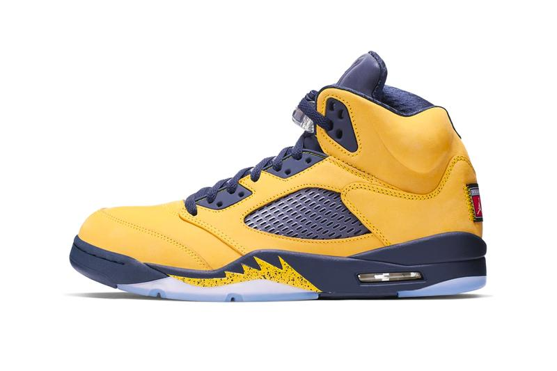competitive price ab91d 7ec33 Air Jordan 5 Michigan Inspire Release | HYPEBEAST