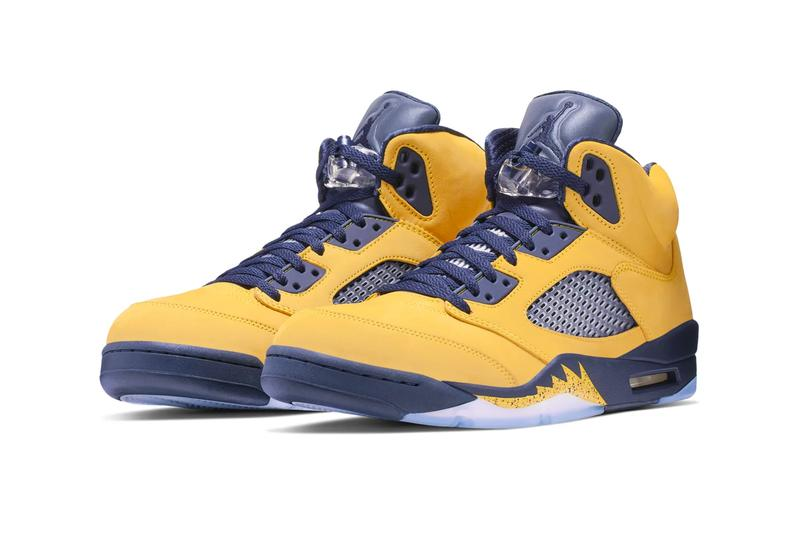 competitive price 47957 7b1e6 Air Jordan 5 Michigan Inspire Release | HYPEBEAST