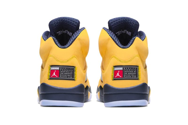 competitive price 19d73 aa280 Air Jordan 5 Michigan Inspire Release | HYPEBEAST