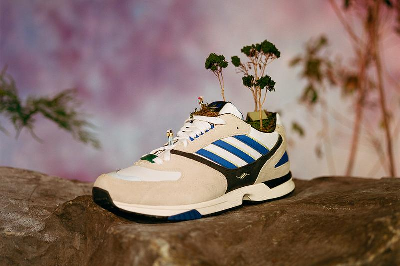 Alltimers x adidas Skateboarding ZX 4000 Gazelle Super Bag Jacket Shorts Green Blue White Grey Sneaker Release Information Apparel T-shirts top bag shorts