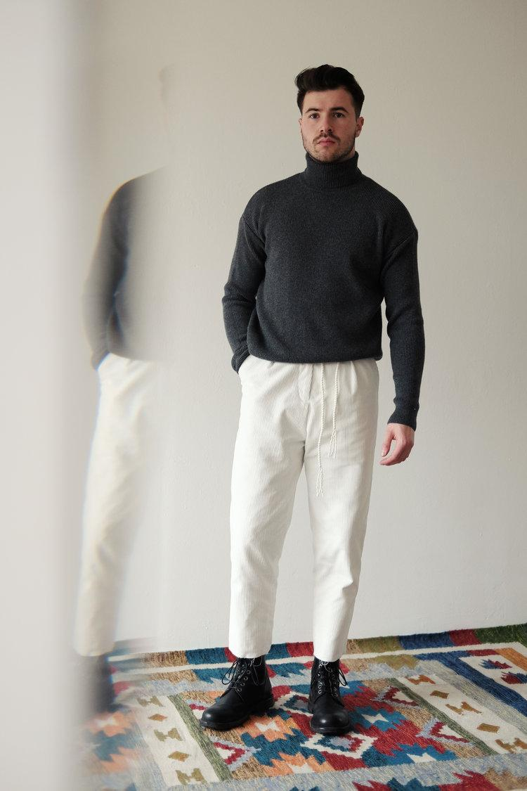 "An Irrational Element Fall/Winter 2019 Collection ""005"" Ukrainian Based Italian Japanese English Fabrics Korean Japan Stockists Lookbook Staples Sustainable Clothing Brand"