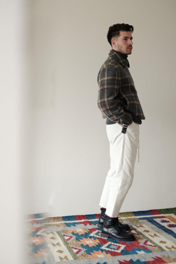 "An Irrational Element Fall/Winter 2019 Collection ""005"" Ukrainian Based Italian Japanese English Fabrics Korean Japan Stockists Lookbook Staples Sustainable Clothing Brand"