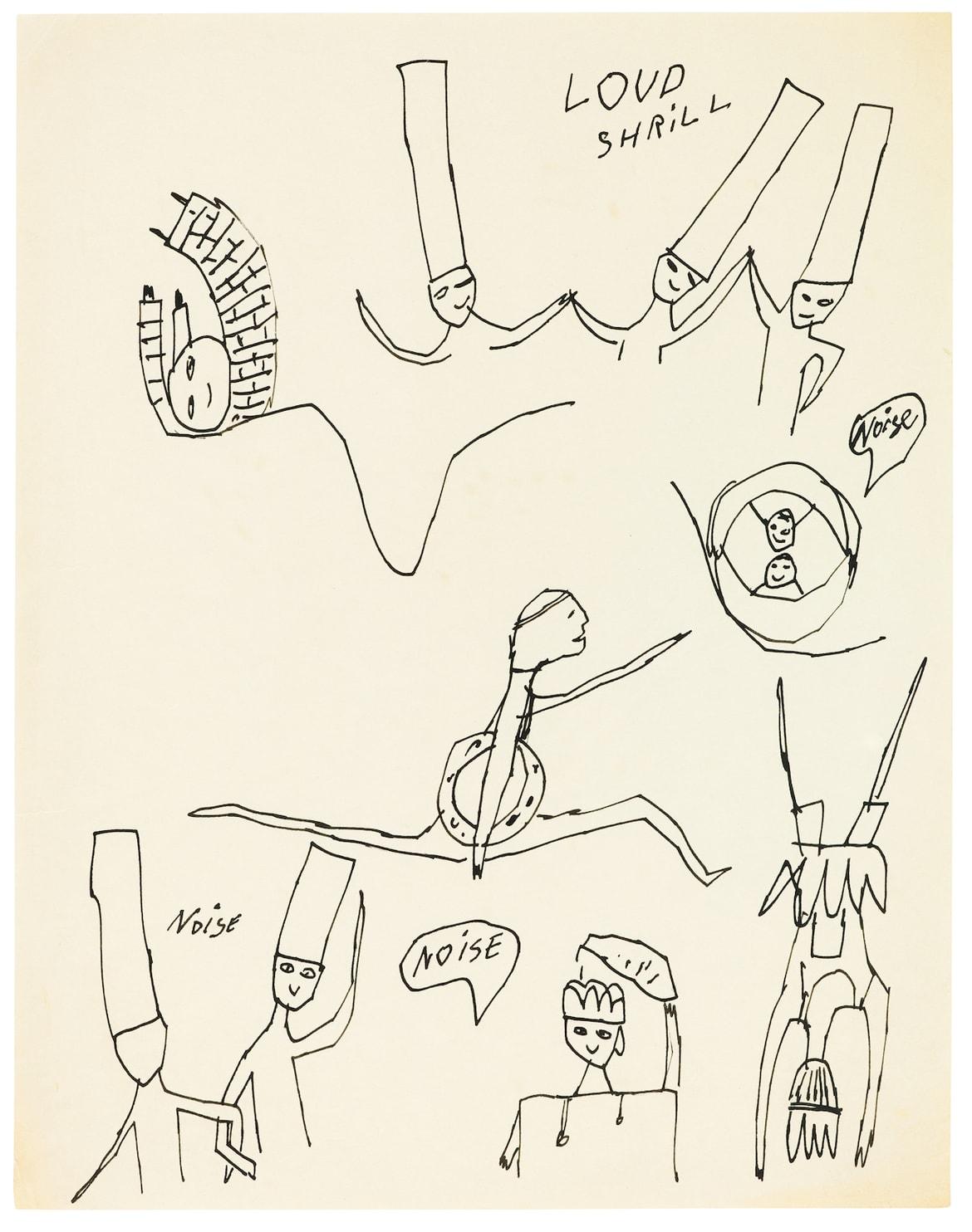 dance diagram andy warhol andy warhol early drawings   galerie bucholz hypebeast  andy warhol early drawings   galerie