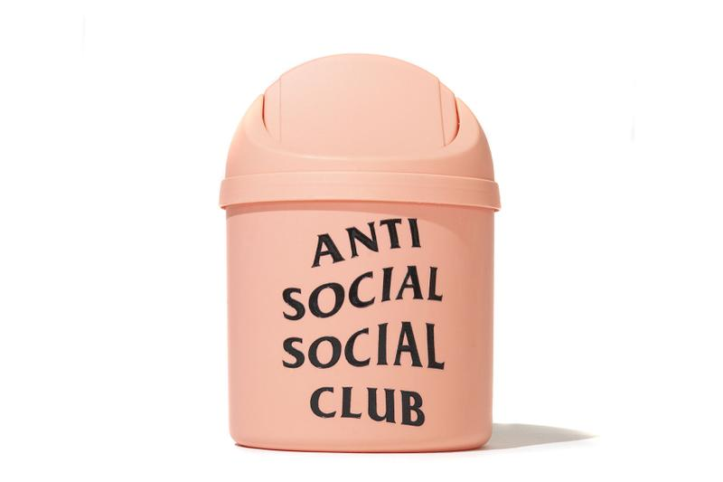 Anti Social Social Club FW19 Accessory Collection fall winter 2019 release trash cans tenga frisbee