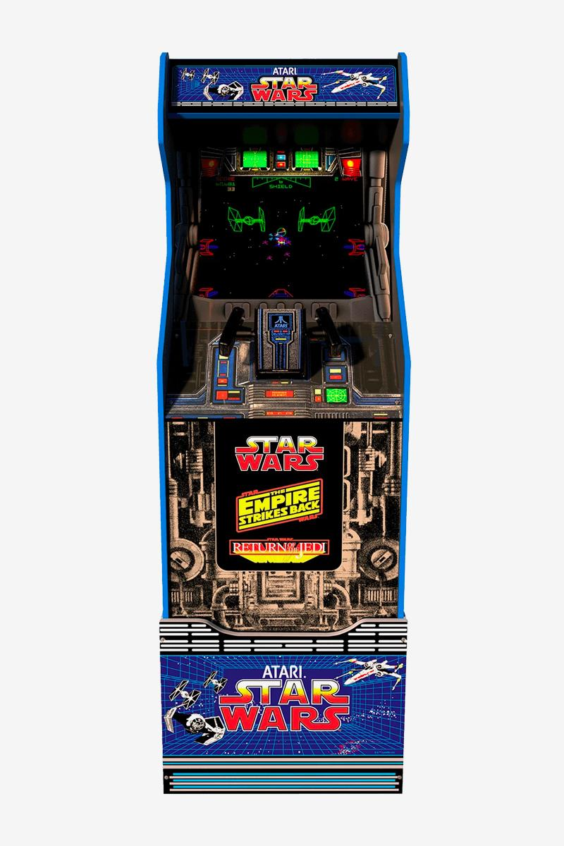 Arcade1Up Star Wars Home Arcade Game Countercade Return of the Jedi The Empire Strikes Back A New Hope retro vintage buttons 17 inch lcd dual speakers