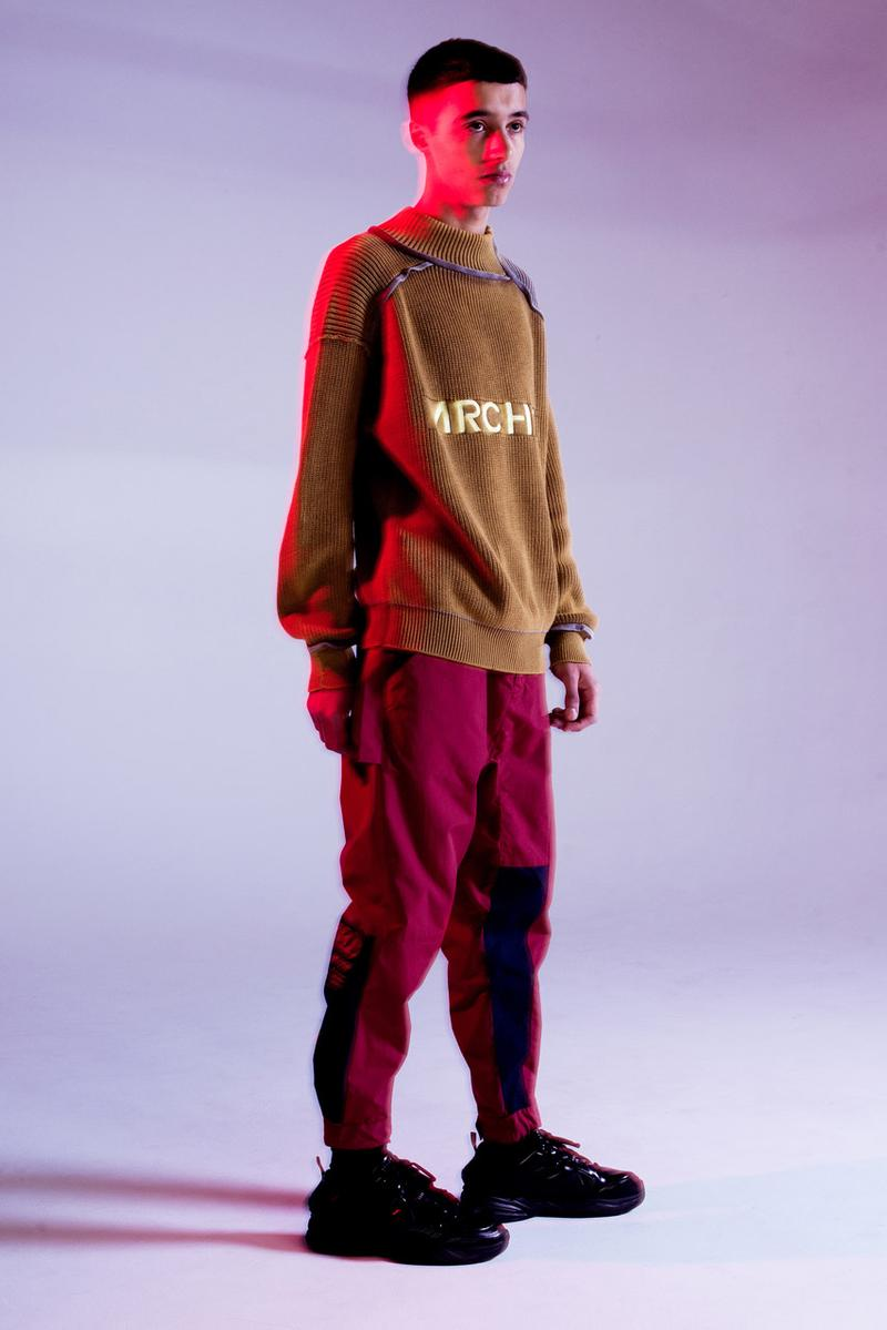 ARCHON Fall Winter 2019 Collection Technical Parka Tokyo Streetwear Japanese label pockets utilitarian two faces hoodie shirt baggy graphics