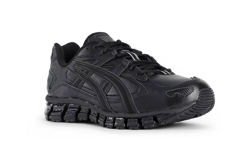 "ASICS GEL-KAYANO 5 360 ""Triple Black"" Release black sneakers runners antonioli"