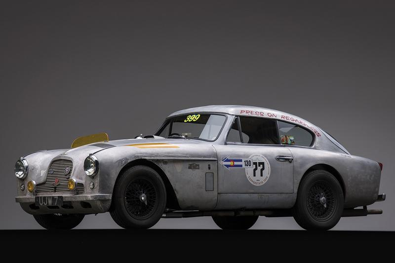 This Restored Bare-Metal Body Aston Martin DB2/4 MKII Is a Rally-Ready Classic