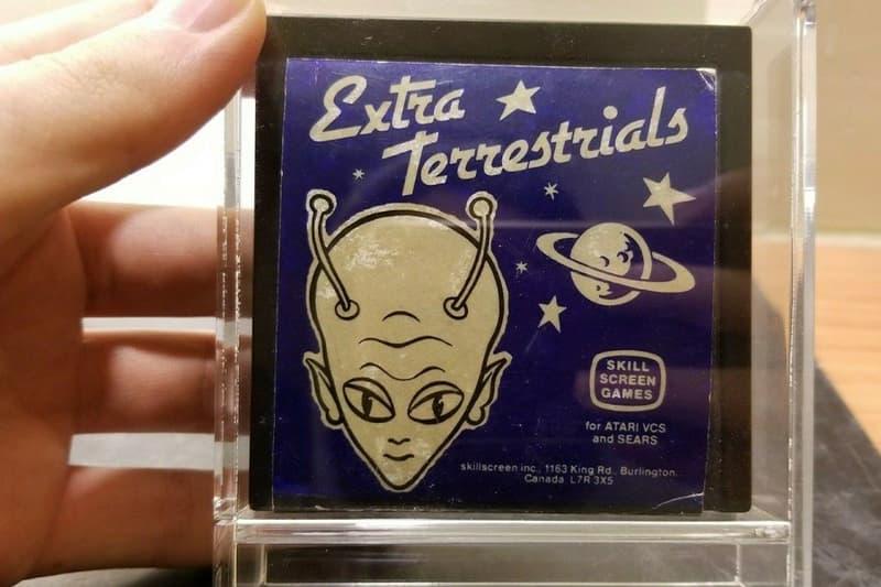 Atari 2600 Extra Terrestrials Rarest Game Selling Sale $90000 eBay E.T. the Extra Terrestrial Air Raid