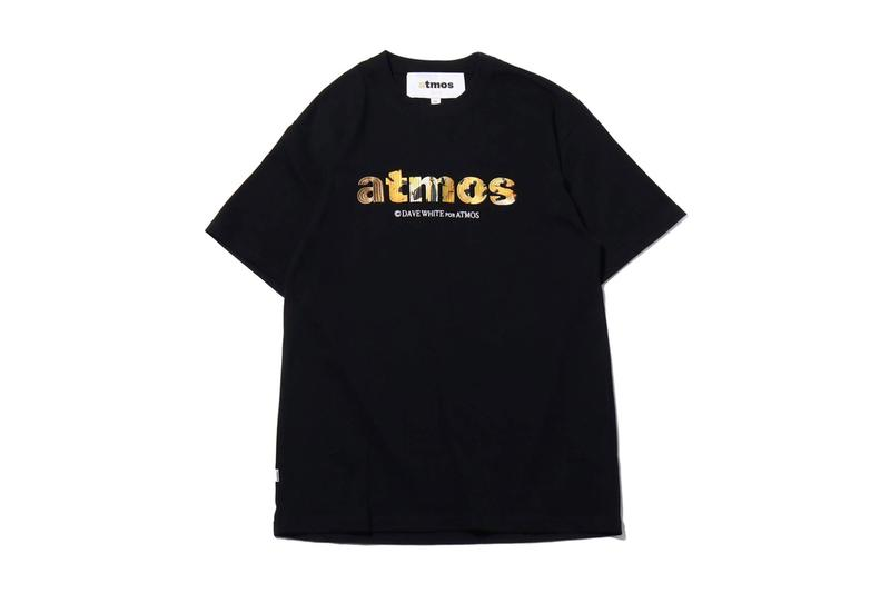 atmos David White Capsule Collection Limited Edition Japan Tees Hats Bags Shorts White Black Animals Water bottles Tigers Exhibition Pop-Up Store Gallery Flagship Sendagaya Shibuyaku Toyko