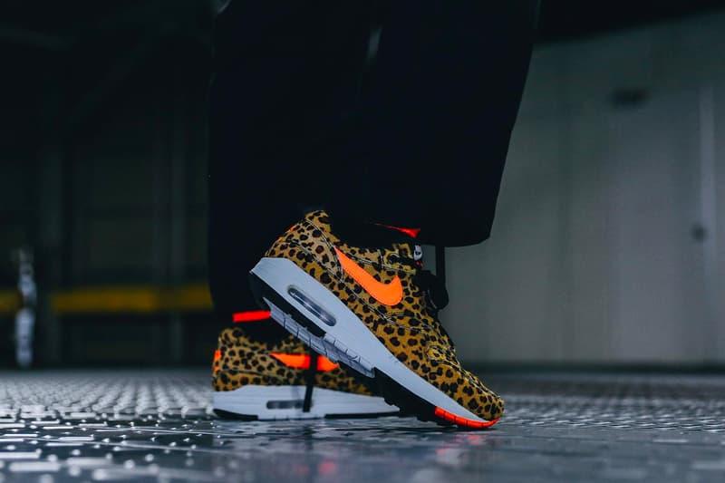 "Atmos x Nike Air Max 1 ""Animal 3.0 Pack"" Release Info drop date price t-shirts zebra cheetah leopard sneakers shoes Dave White atmos Sendagaya"