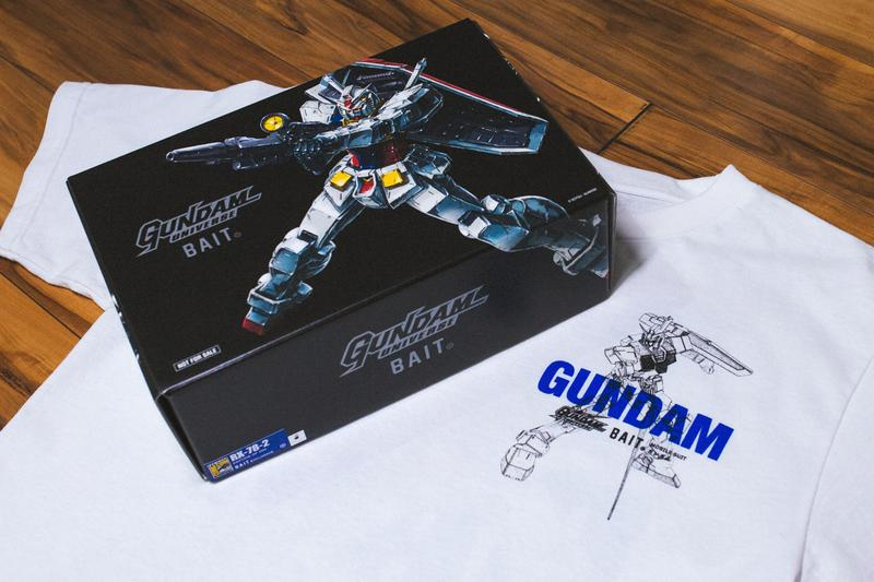BAIT Gundam San Diego Comic-Con Apparel Capsule Limited Edition Figurines