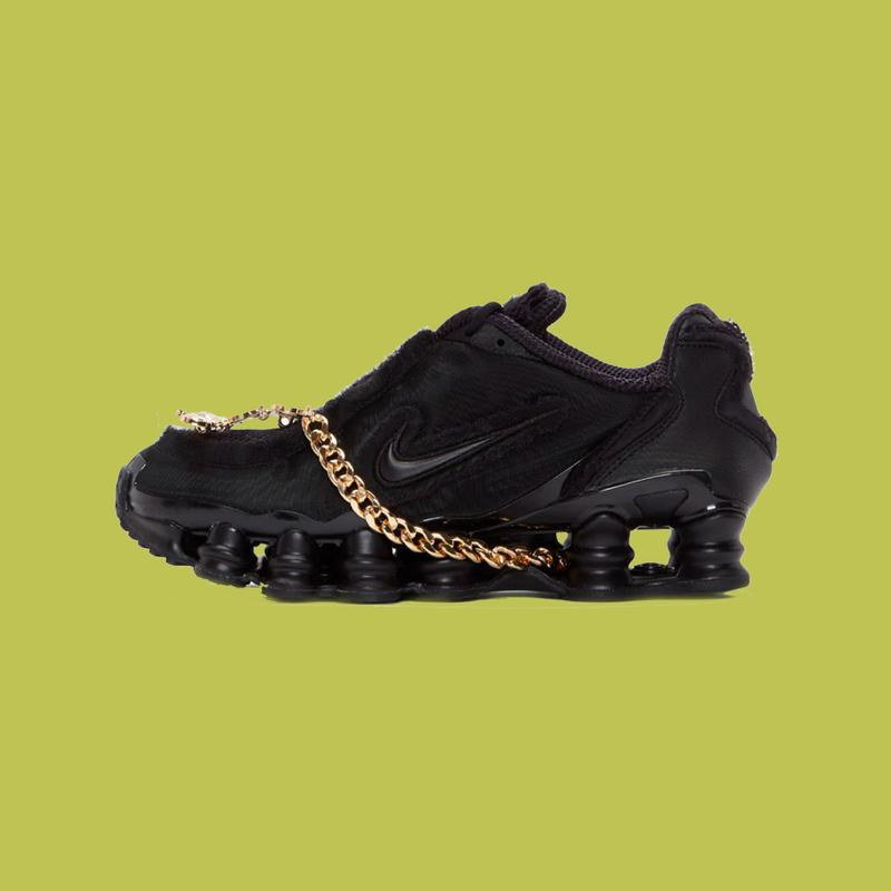 more photos dff3e 9f839 COMME des GARÇONS x Nike Shox TL
