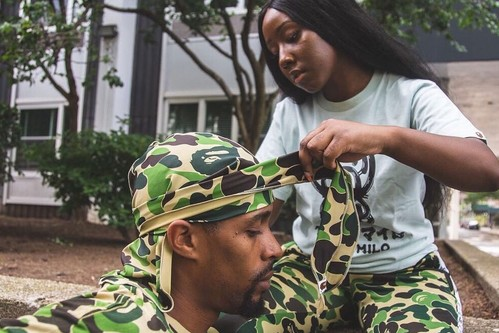 BAPE Drops Range of ABC CAMO Durags & Shooting Sleeves for FW19