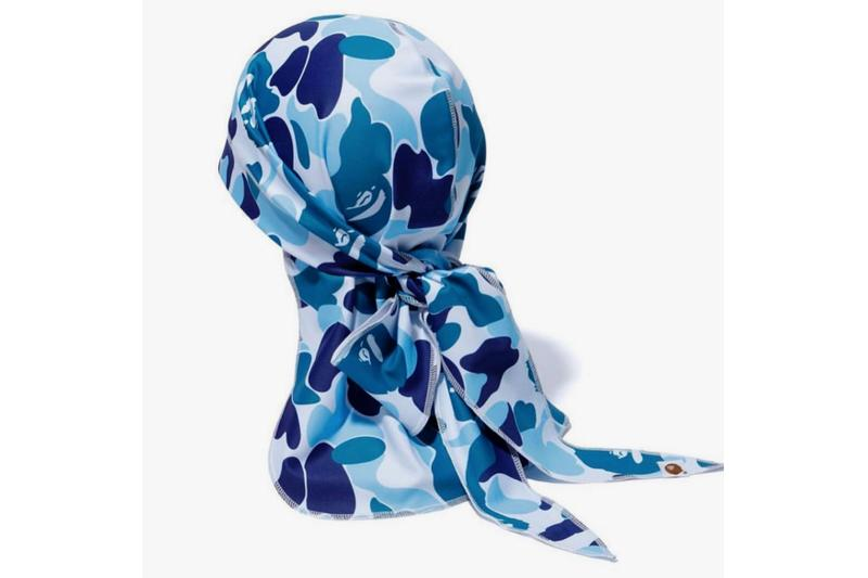 BAPE ABC CAMO Durags & Shooting Sleeves a bathing ape basketball fall winter 2019 a bathing ape pink blue green black