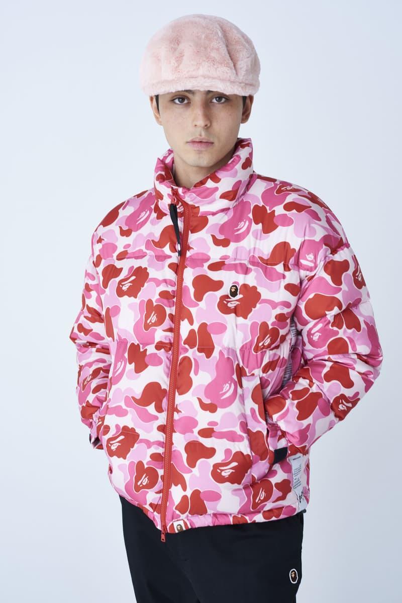 BAPE Fall/Winter 2019 Collection Lookbook a bathing ape camo prints jackets shark masks hoodies nigo