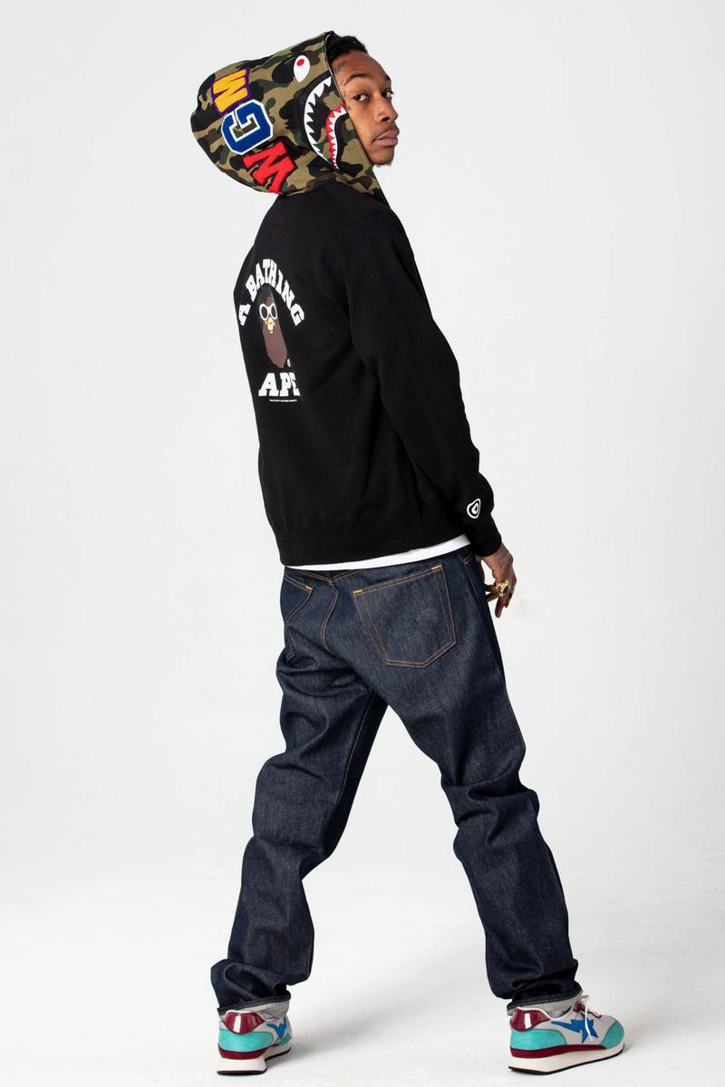 BAPE Taps Wiz Khalifa for Latest BAPE HEADS-Inspired Capsule