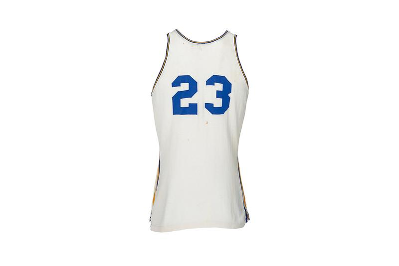Barack Obama 44th President of the United States of America Highschool Basketball Jersey Game Worn Punahou $100000 USD Estimate Auction USA