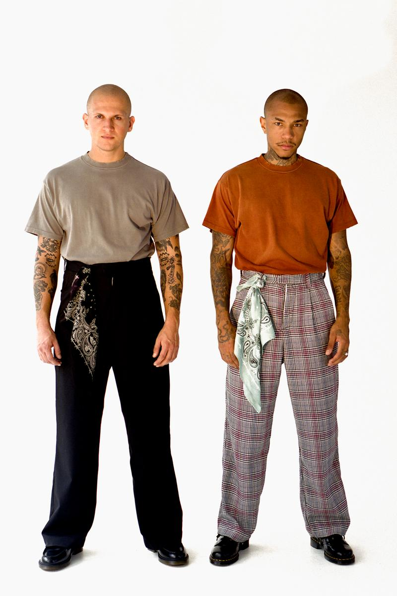BARE KNUCKLES Collection Three Seasonal Drop Release Lookbook Jacob Keller Cole McBride Camp Collar Bowling Shirts Flowing Trousers T-Shirts Los Angeles Brand Portland Oregon Pop Up Store