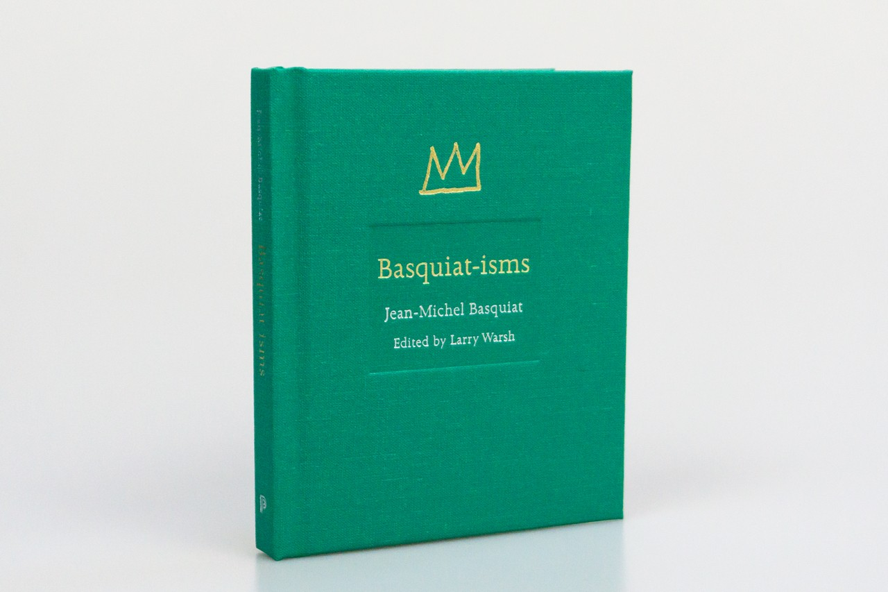 basquiatisms book larry warsh interviews artists artworks quotes