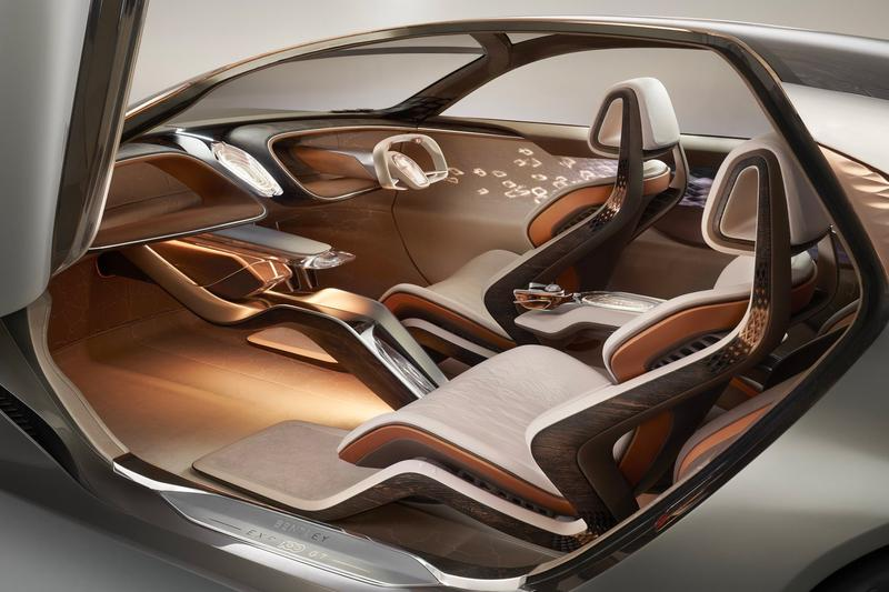 Bentley Centenary Electric EXP 100 GT Concept 100th anniversary electric vehicle EV cars luxury AI artificial intelligence personal assistant