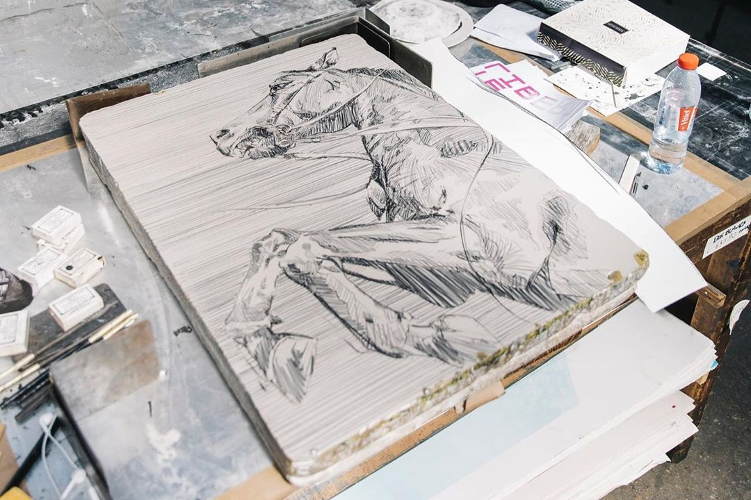 best art drops kosuke kawamura katsuhiro otomo akira art wall nana project erik parker edition copenhagen rebecca maria faith print them all pejac avant arte lithographs editions collectibles