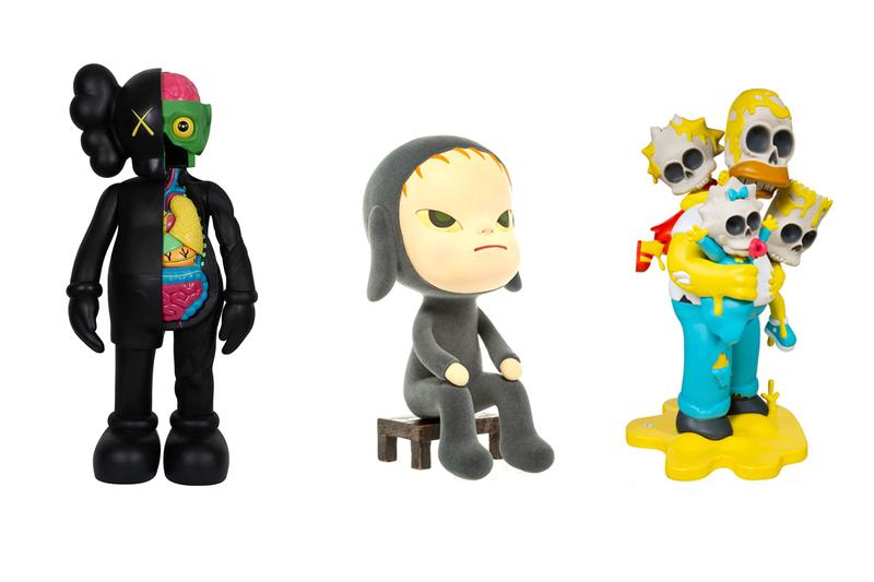 best art drops heritage auctions kaws bus stop ad trevor andrew gucci ghost  shoetree ciaopanic pop up store jean michel basquiat bearbrick medicom toy dime ecce homo puzzle set releases prints editions lithographs collectibles figures