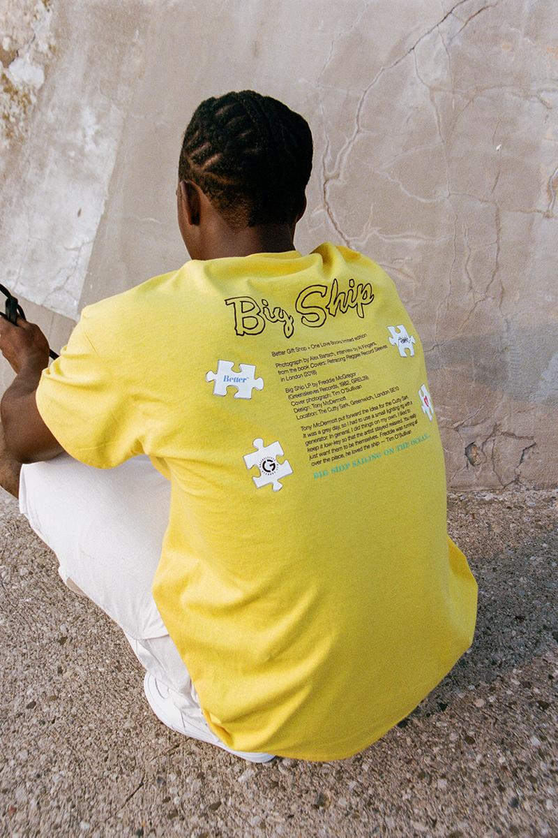 Better Gift Shop Summer 2019 Collection Lookbook Drop Release Information First Look Shaun Crawford Long Sleeve T-Shirts Tie Dyed Artist Nepenthes NY Exhibition Goyard Paris Dover Street Market Ginza Los Angeles