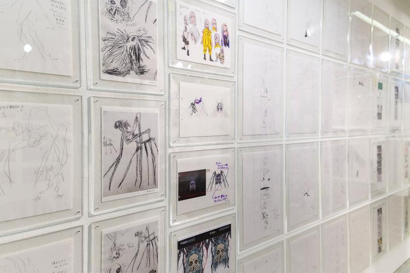 takashi murakami billie eilish you should see me in a crown animanga zingaro exhibition tokyo japan sculptures animations artworks
