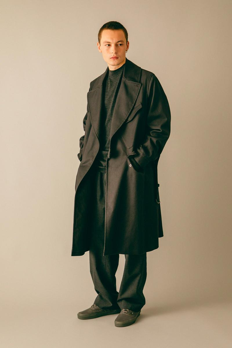 blurhms Fall/Winter 2019 Collection Lookbook japanese americana street fashion menswear womenswear essentials fw19 autumn WONDERISM LTD