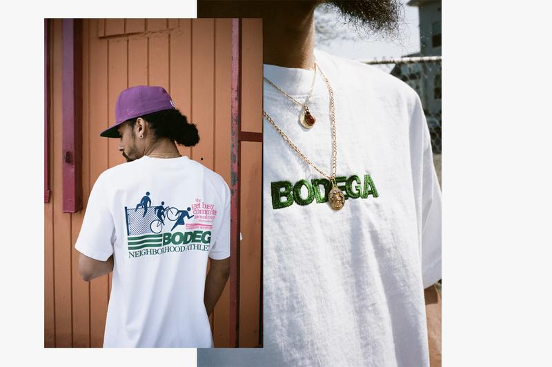 """Bodega Spring Summer 2019 Delivery Two SS19 """"The Dog Days"""" Midsummer Heat Collection Lookbook Videography Video Photography Button Downs Pinstripes Headwear Graphic T-Shirts Shorts Windbreakers Rugby Shirts"""