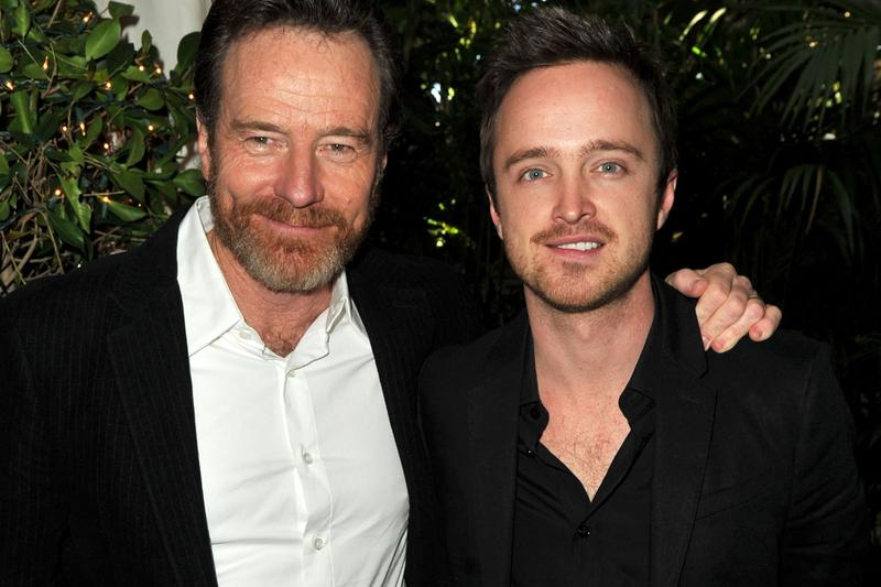 Bryan Cranston Aaron Paul Mezcal Company liquor alcohol drinking mexico mexican breaking bad instagram reveal dos hombres
