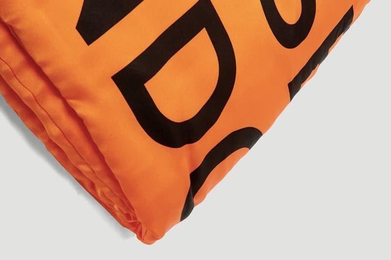 "Burberry Logo Print Silk Puffer Scarf  ""Orange"" release price where to buy 2019"