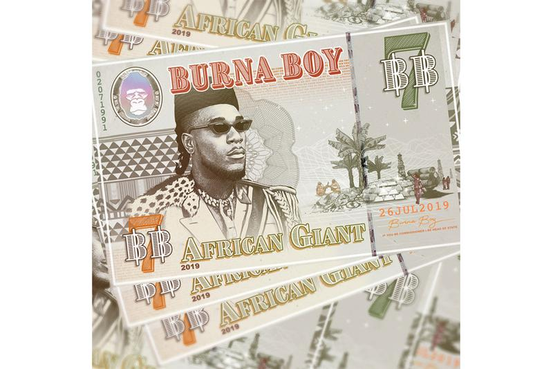 Burna Boy 'African Giant' Album Stream spotify stream listen now apple music jorja smith afrobeat m.anifest damian marley angelique kidjo future yg jeremih zlatan serani