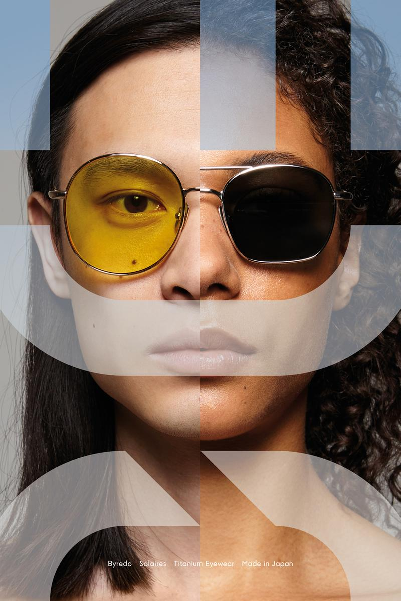 Byredo Solaires Eyewear Collection The Engineer The Bohemian The Certified Pilot Black Pink Green Yellow Blue Titanium