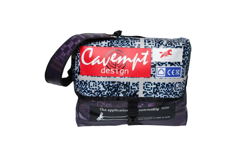 Cav Empt Fall/Winter 2019 Third Drop Release Info drop date cavempt.com stockist buy now sk8thing toby feltwell streetwear BLEACHED 2 BUTTON JACKET DESIGN LIGHTER T BLEACHED WIDE CHINOS MESH T NAVY OVERDYE NOISE BEACH PANTS MESH LONG SLEEVE T GREEN DESIGN MESSENGER BAG