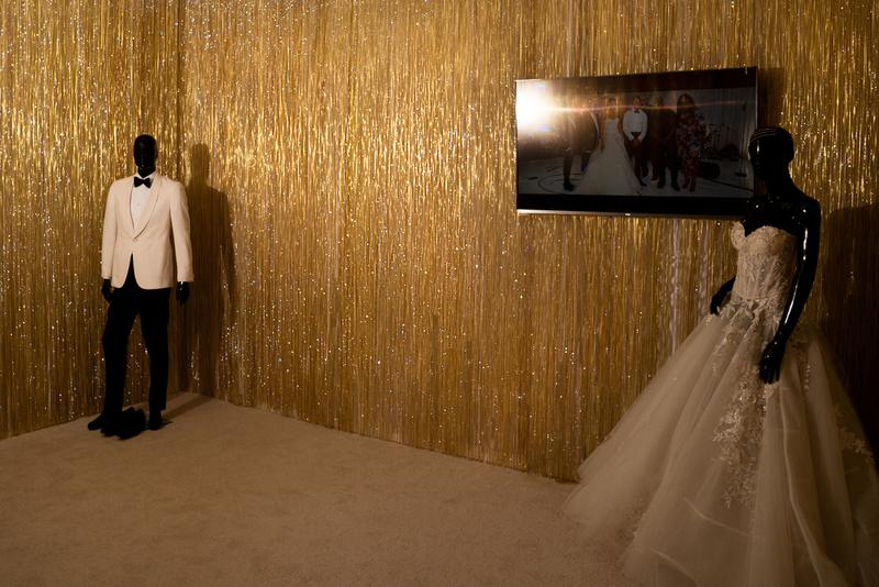 "Chance the Rapper ""The Big Store"" Exhibition pop up day album release merch installation swarovski"