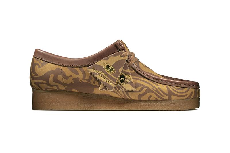 "wu wear tang clan fall/winter 2019 clarks originals ""Ice Cream"" ""Glaciers of Ice"" maple brown navy release information closer look buy cop purchase details first look"