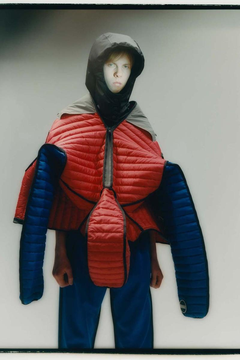 Colmar A.G.E. by Shayne Oliver Fall Winter 2019 2020 Collection Lookbook Utilitarian avant-garde Hood By Air Founder Technical Alpine Gear Ski Label Italian Brand Jackets Coats